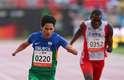 Yohansson já havia conquistado os 200 m na Paralimpíada de Londres, quando ficou marcado por pedir a namorada Thalita em casamento durante a comemoração