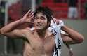 Lodeiro fez o segundo gol do Botafogo e tirou a camisa para comemorar