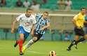 Duelo foi bastante disputado até a metade final do segundo tempo, quando Grêmio se sobressaiu