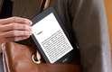 Leitor de livros eletrônicos tem tela de 6 polegadas com tecnologia de e-paper