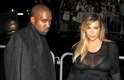 Ela foi acompanhada do marido, o rapper Kanye West, ao desfile da Givenchy, última grife a se apresentar no sexto dia da semana de moda de Paris