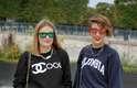 Anouk e Stéphanie dizem que o look semelhante não foi intencional