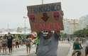Organizada em 57 países, a Marcha Global contra a Monsanto reuniu diversos ativistas no Rio de Janeiro. De acordo com os organizadores, o objetivo do protesto é denunciar à sociedade os danos que as multinacionais do agronegócio, simbolizadas pela Monsanto, vêm causando no Brasil e no mundo