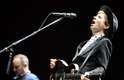 O músico havia passado pelo Brasil em 2001, quando subiu ao palco do Rock in Rio