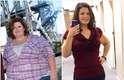 Com a mudança de peso, ela teve que investir em um guarda-roupa inteiro novo, já que passou do manequim 56 para o 38