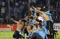 Uruguai festejou vaga na Copa do Mundo de 2014 após empate sem gols diante da Jordânia