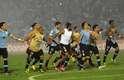 Uruguaios agradecem a torcida após mais uma classificação à Copa do Mundo