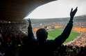 Sul-africanos lotaram o FNB Stadium, conhecido como Soccer City para se despedirem de Mandela