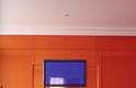 O projeto que a arquiteta fez para o amigo e apresentador Amaury Jr. é bem representativo de uma característica que tornou Brunete conhecida: o uso de cores fortes