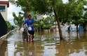 20 de fevereiro - Na capital de Rondônia, Porto Velho, 1 mil famílias tiveram de deixar suas casas por causa da cheia histórica do rio Madeira e seis localidades, entre distritos e bairros, foram afetados