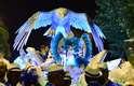 A Portela espalhou 22 águias pelo carro abre-alas