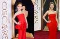 Look e pose de Jennifer Lawrence, indicada ao Oscar de Melhor Atriz Coadjuvante por Trapaça, também foram recriados