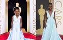 Um dos mais elogiados da noite, o vestido de Lupita Nyong'o, vencedora do Oscar de Melhor Atriz Coadjuvante por 12 Anos de Escravidão, ganhou versão em miniatura