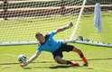 A seleção da Austrália realizou treino nesta segunda-feira, em Vitória, no Espírito Santo. O time australiano, que faz parte do Grupo B, ao lado de Espanha, Holanda e Chile, estreia no Mundial no dia 13 de junho