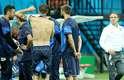 Seleção italiana faz treino de reconhecimento do gramado na Arena Amazônia, em Manaus, onde estreia na Copa do Mundo. A equipe enfrenta a Inglaterra no sábado, às 19h