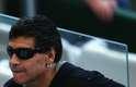 Direto da arquibancada do Estádio do Mineirão, em Belo Horizonte, o ex-jogador Diego Maradona assistiu, neste sábado, ao jogo entre Argentina e Irã. A partida é válida pela segunda rodada da Copa do Mundo de 2014