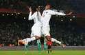 Da conquista da América ao fiasco do Mundial, Ronaldinho viveu dois anos intensos no Atlético-MG. O jogador virou ídolo dos torcedores e levantou taças, mas também se envolveu em polêmicas. Relembre em fotos a passagem do jogador por Belo Horizonte - na imagem, comemoração com Jô que marcou época no Atlético-MG
