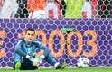 Marcelo Grohe lamenta gol sofrido no Gre-Nal