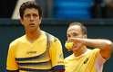 Espanhóis não tiveram chances contra a entrosada dupla brasileira