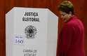 Presidente Dilma Rousseff (PT) votando em Porto Alegre