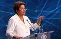 Dilma Roussef pediu explicaçõesao candidato tucano sobre a destinação de verbas à saúde em Minas Gerais e também sobre a construção doaeroporto em Cláudio, MG