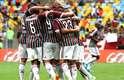 O Fluminense empatou ainda no primeiro tempo, após gol contra de Ralf