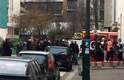 """A revista satírica """"Charlie Hebdo"""", que foi ameaçada no passado por ter publicado caricaturas de Maomé, foi alvo nesta quarta-feira em Paris de um ataque"""