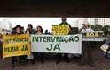 Grupo fez protesto no vão do Masp, na Avenida Paulista