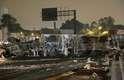 Guarulhos, 28/3 - Carreta, ônibus e veículo de passeio se envolveram em colisão na rodovia Presidente Dutra, na região metropolitana de São Paulo; duas pessoas ficaram feridas
