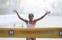 Prova feminina da maratona foi realizada na manhã deste sábado em Toronto