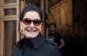 Glória Kalil foi prestigiar o desfile de Alexandre Herchcovitch no São Paulo Fashion Week