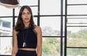 Catharina Dieterich, 28, editora de moda, apostou na transparência com um cropped preto