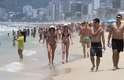 25 de dezembro: cariocas e turistas aproveitam o calor do dia de Natal e lotam as prais do Rio de Janeiro.