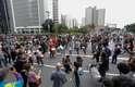 Protesto contra aumento de tarifa acaba em confusão em SP