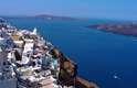 Lugares turísticos como Santorini estão entre as opções