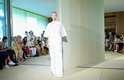 Estilista apostou em transparências e vestidos longos para sua nova coleção que passou na passarela da 41ª edição do SPFW