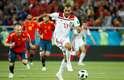 Boutaib marcou o primeiro gol do Marrocos