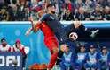Kompany, da Bélgica, pressiona Giroud
