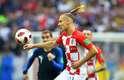 Zagueiro Vida, da Croácia, que protagonizou polêmica durante a Copa