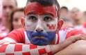 Torcida croata se concentrou em Zagreb e lamentou a derrota na final