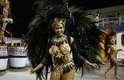 Desfile da Pérola Negra campeã do Carnaval do grupo de acesso de São Paulo