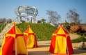 Uma das mais novas atrações em Hampton Court Palace, o Magic Garden, foi inaugurado em 2016 pela Duquesa de Cambridge