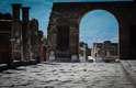 Sítio arqueológico de Pompeia, no sul da Itália