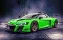 Audi R8 LMS GT2 Verde Kyalami.