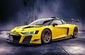 Audi R8 LMS GT2 Amarelo Vegas.