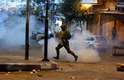Confrontos entre palestinos e israelenses em Hebron
