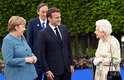 Líderes do G7 se reuniram com a rainha Elizabeth II