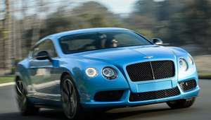 Bentley Continental GT V8 S 2015
