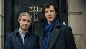 Benedict Cumberbatch se vuelve más serio en 'Shelock Holmes'