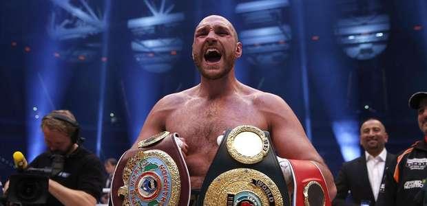 Tyson Fury, nuevo rey de los pesos pesados